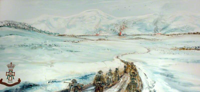 1st Battalion, the Green Howards in the Italian Campaign, Winter 1943–1944