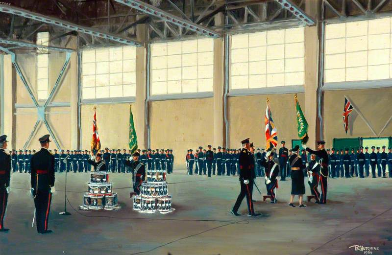 Presentation of Colours by HRH the Princess Royal, 20 March 1963