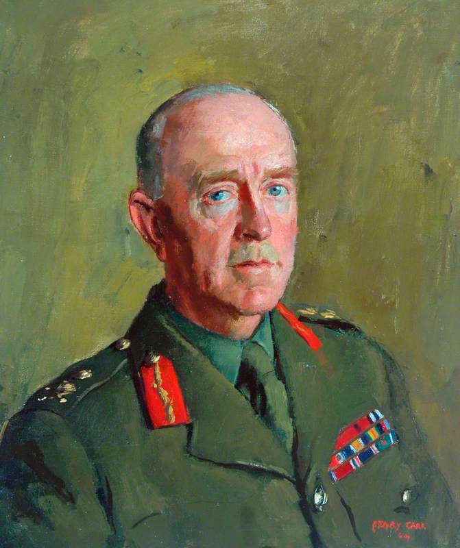 General Sir Harold Franklyn, KCB, DSO, MC, Colonel of the Regiment (1939–1949)