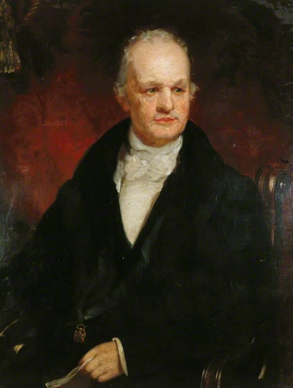 George Stephenson (1781–1848) in Old Age