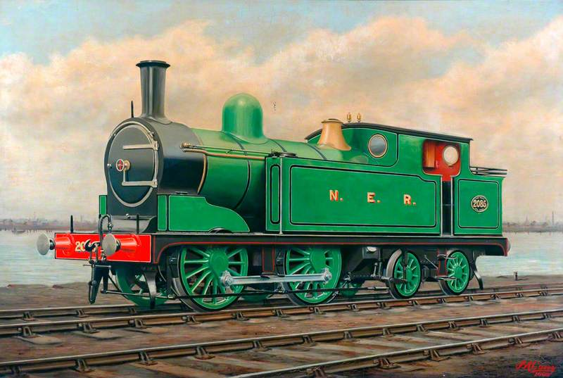 North Eastern Railway 0–4–4 Tank Locomotive No. 2085
