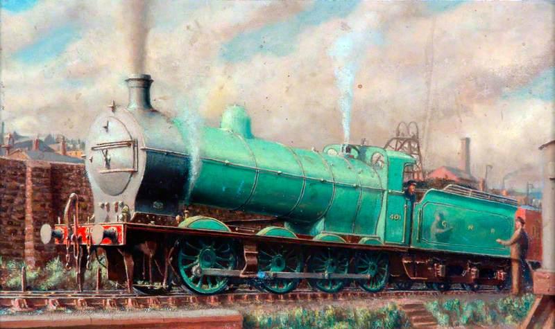 Great Northern Railway 0–8–0 Locomotive No. 401