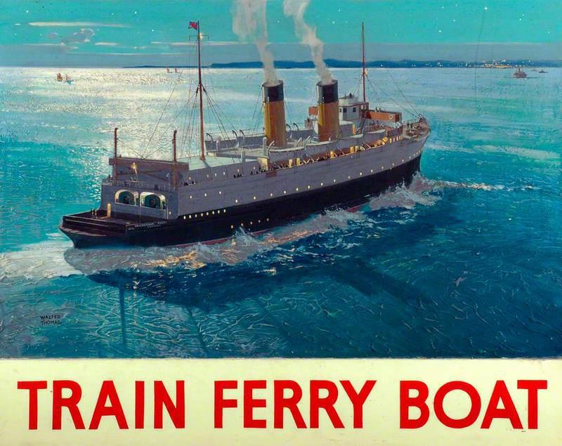 Train Ferry Boat