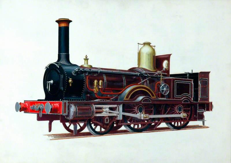 London and South Western Railway 2–4–0 Well Tank Locomotive