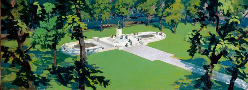 The Roosevelt Memorial, London