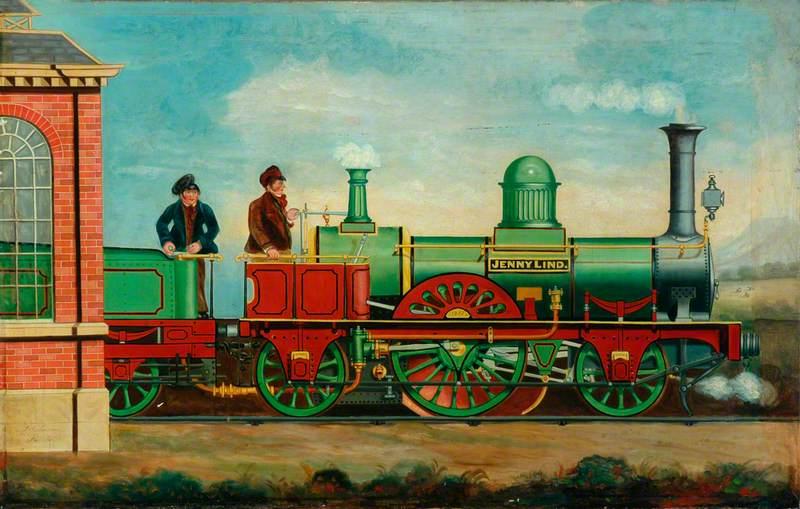 2–2–2 Locomotive 'Jenny Lind'