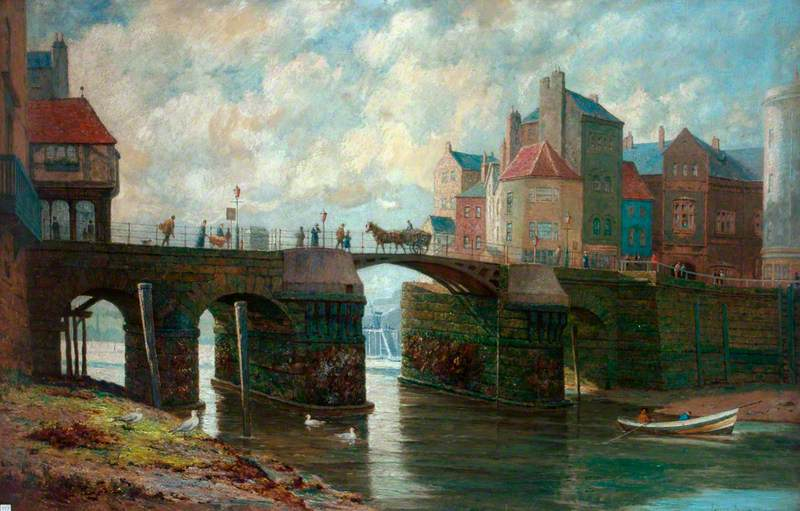 The Bridge at Whitby Harbour