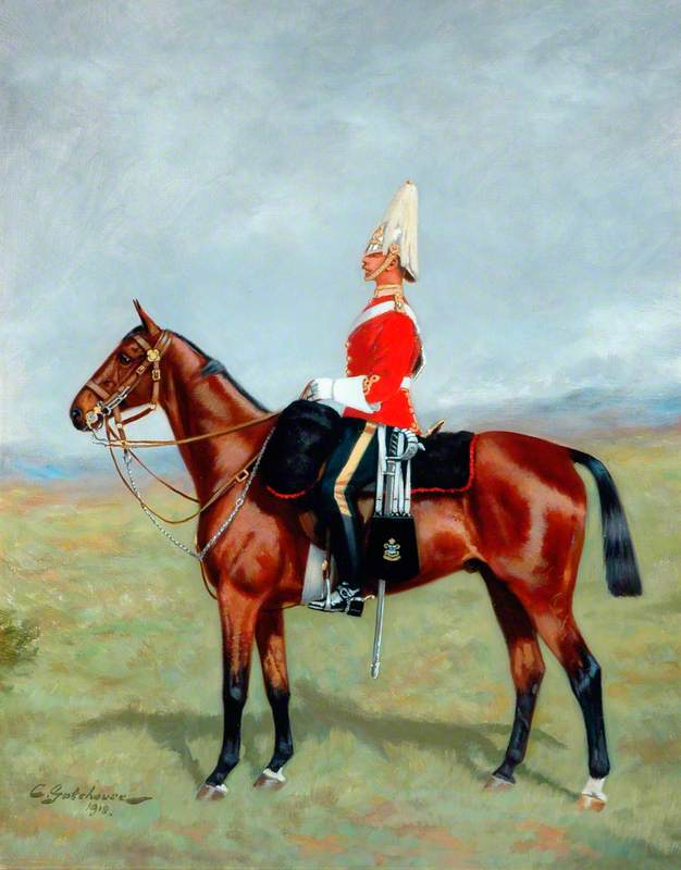 Officer of the 6th Inniskilling Dragoons