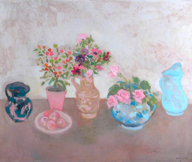 Still Life with Roses and Anemones
