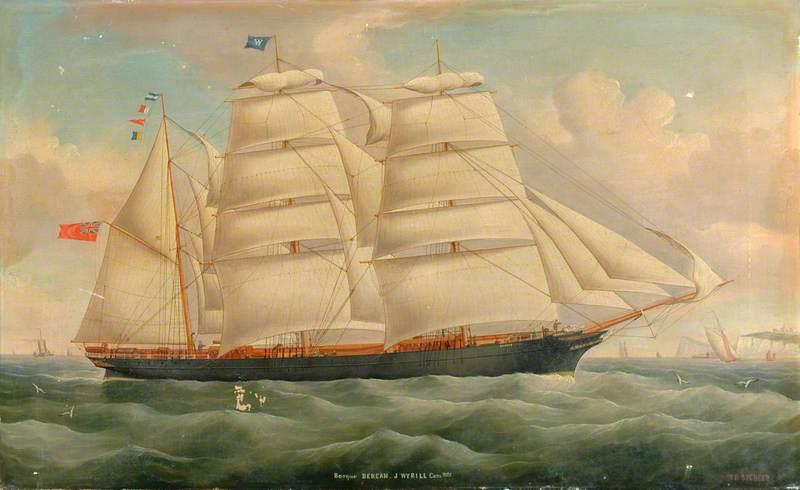 The Barque 'Berean', J. Wyrill Commander