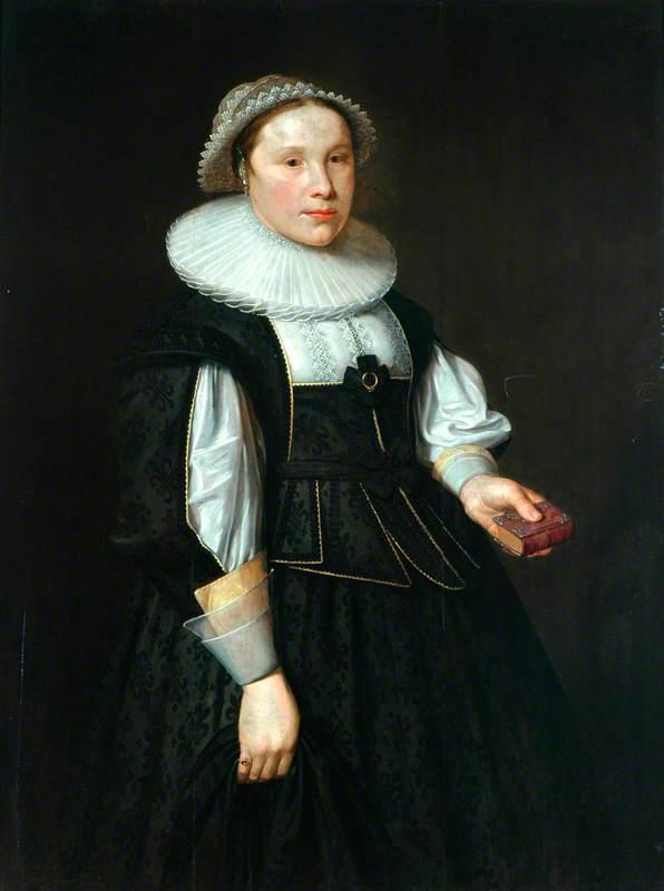 Captain Browne Bushell's Bride, Elizabeth, née Fairfax