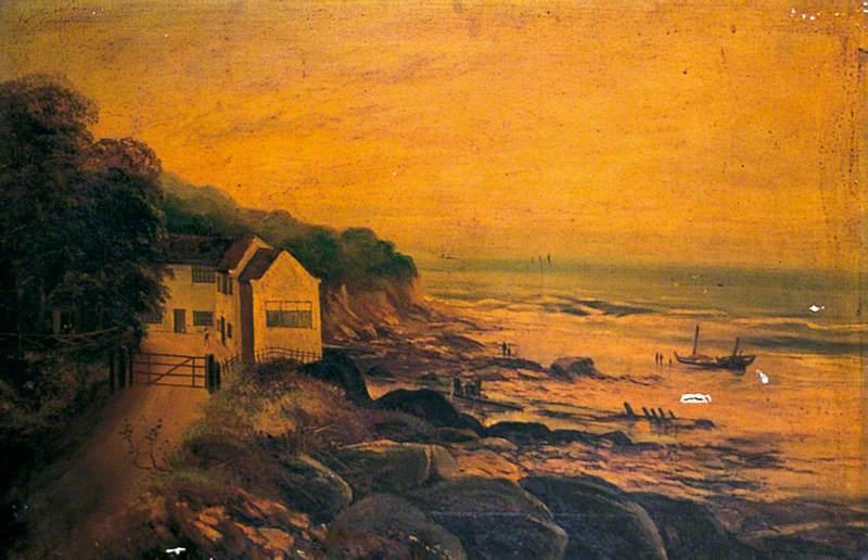 Coast Scene near Whitby
