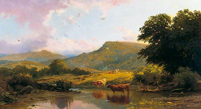 Scene on the River Conwy, Betws-y-Coed