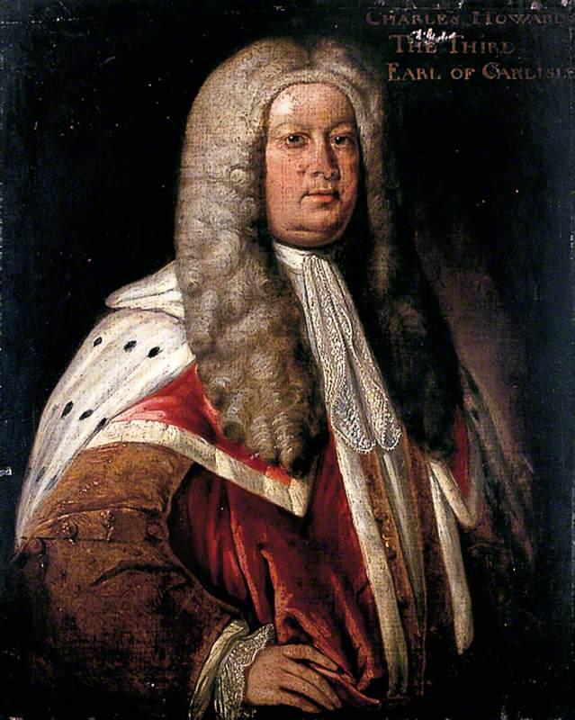 Charles, 3rd Earl of Carlisle (1669–1738) in Peer's Robes