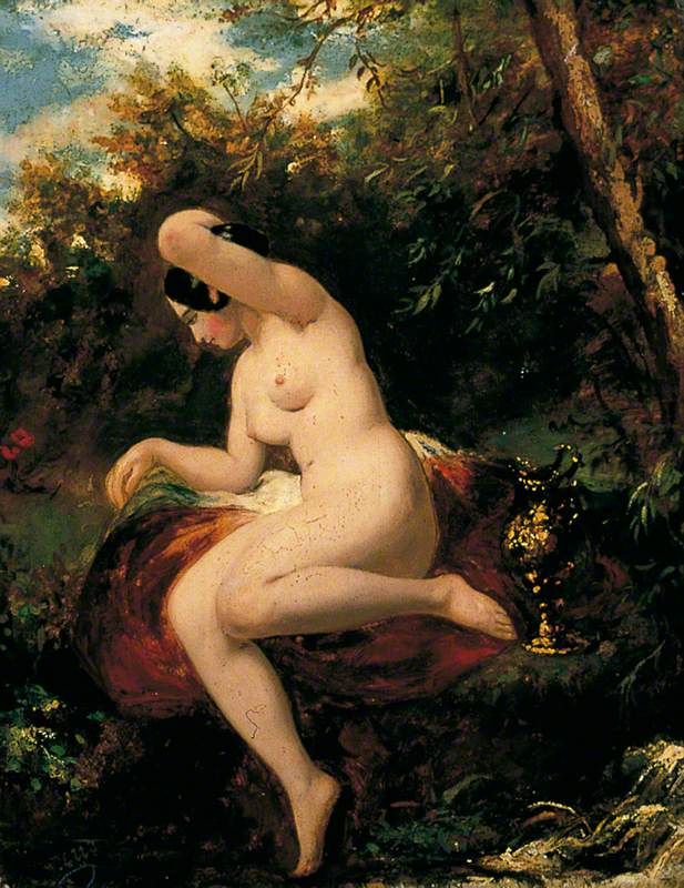Female Nude (Magdalen)