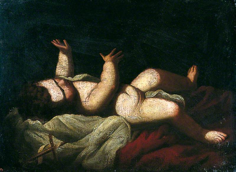 Infant Christ Reclining on a Cushion