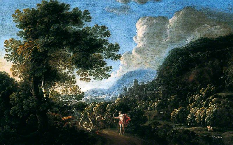 Landscape with St George