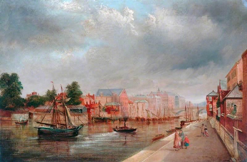 York, the Ouse from Skeldergate Bridge
