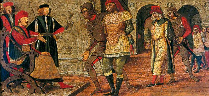 Captive Kings before a Judge