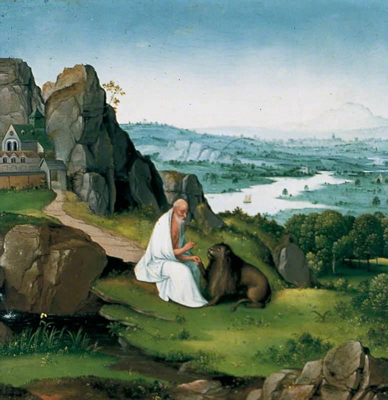 St Jerome in a Landscape