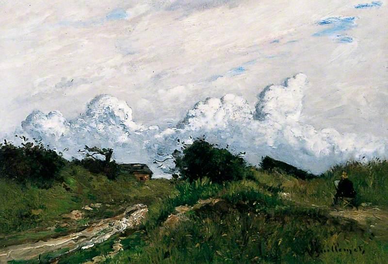 Artist in a Landscape