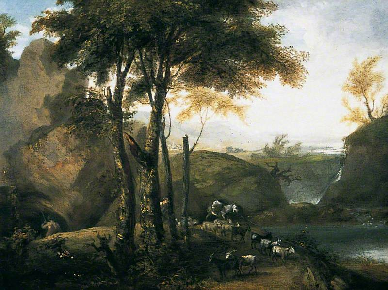 Landscape with Goatherd