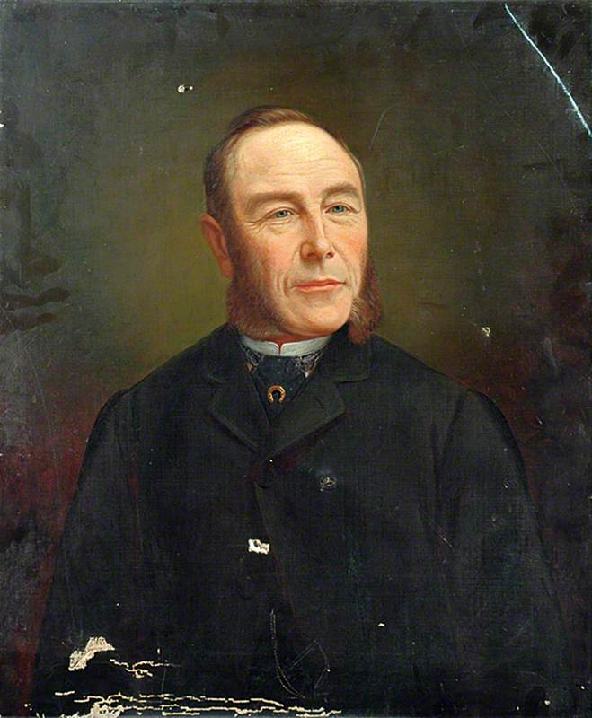 Portrait of an Unknown Man Wearing a Cravat