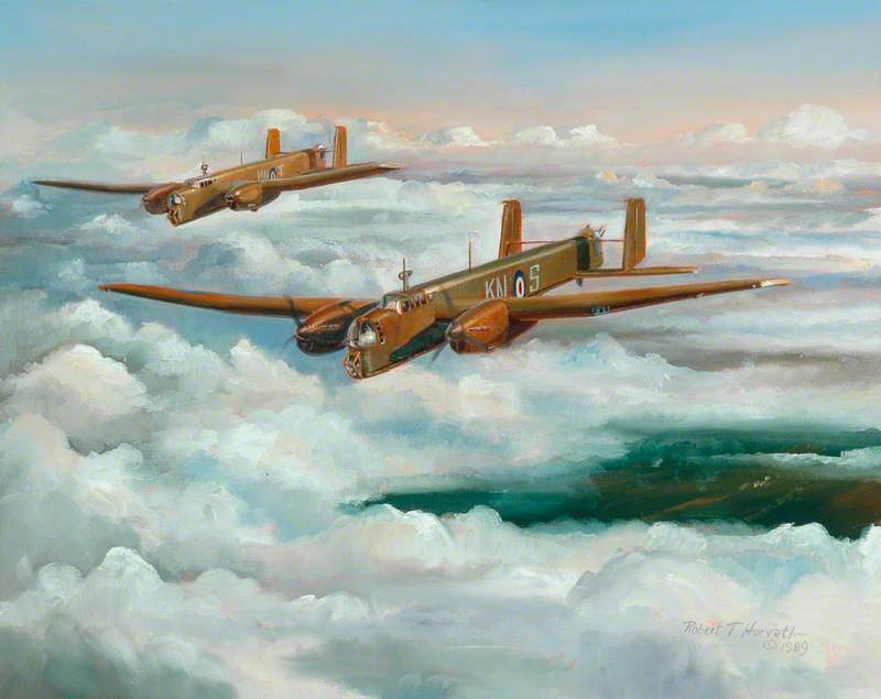 AW Whitleys, KN-S and KN-T of 77 Squadron