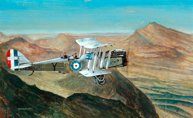 DH9A of 84 Squadron