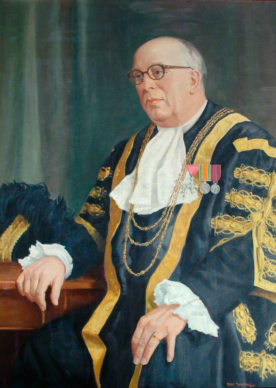 Alderman Robert Stavers Oloman, MBE, JP