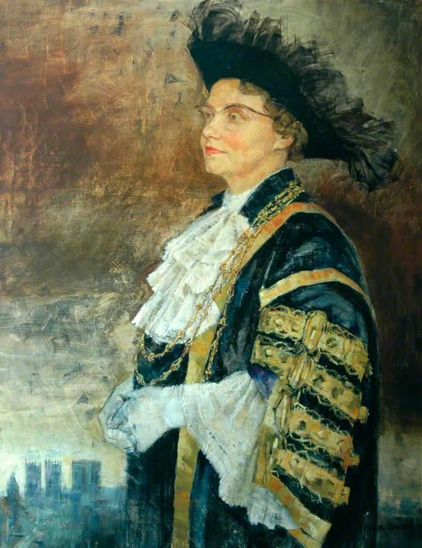 Mrs Ivy Gladys Wightman, Lord Mayor (1961–1962)