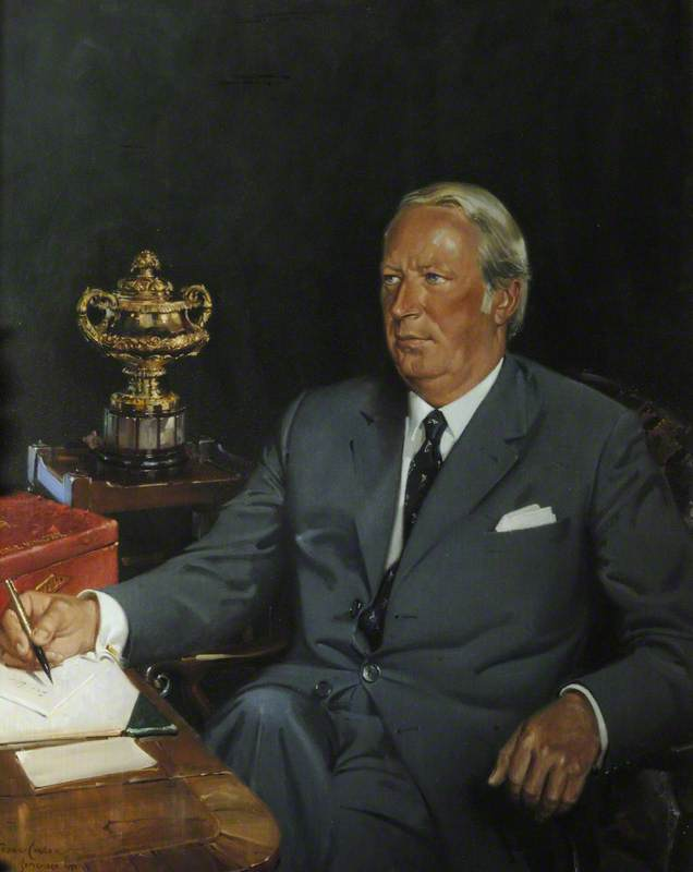 Sir Edward Heath (1916–2005), KG, Organ Scholar (1935–1939), Honorary Fellow (1969), Prime Minister (1970–1974)