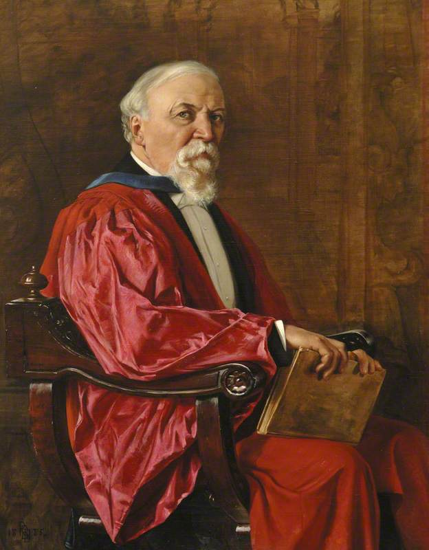 Robert Browning (1812–1889), First Honorary Fellow (1867), Poet