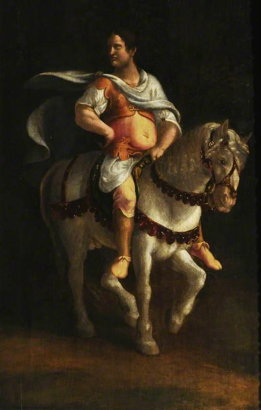 A Roman Emperor on Horseback