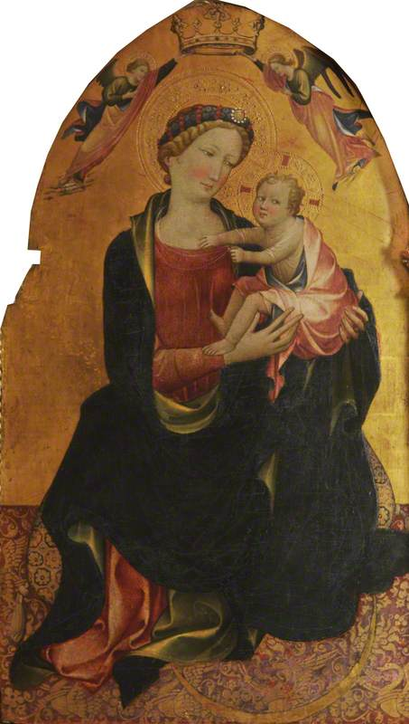 The Virgin and Child (Madonna of Humility)
