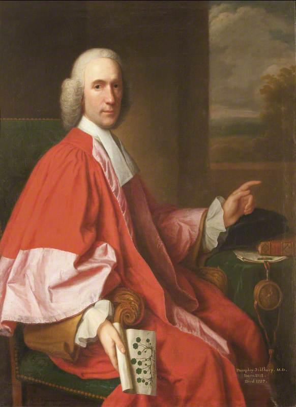 Humphrey Sibthorp (1712–1797), MD