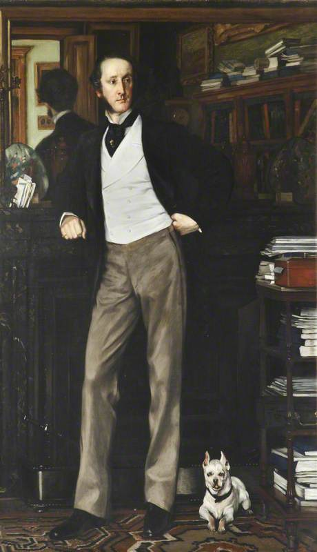 Chichester Samuel Parkinson-Fortescue (1823–1898), Baron Carlingford and 2nd Baron Clermont
