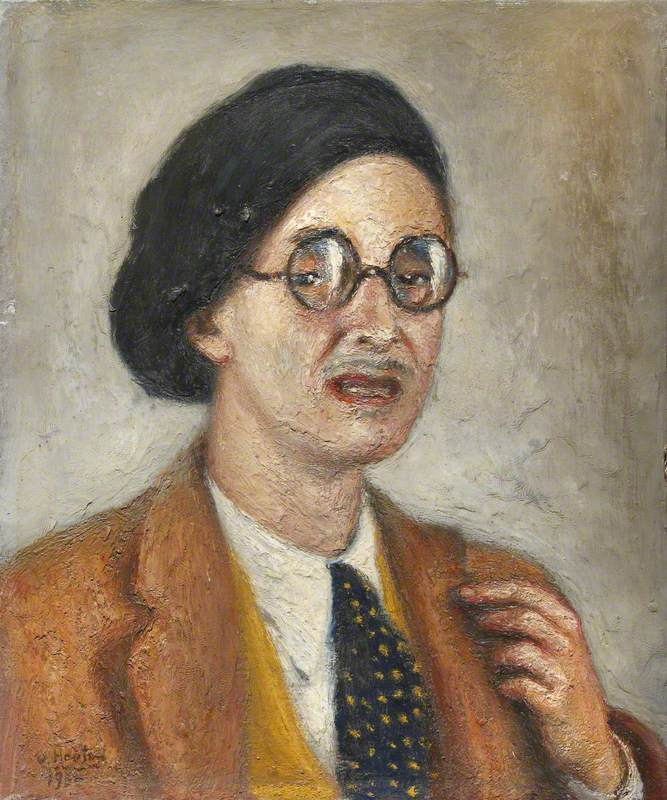 Portrait of a Gentleman in Glasses
