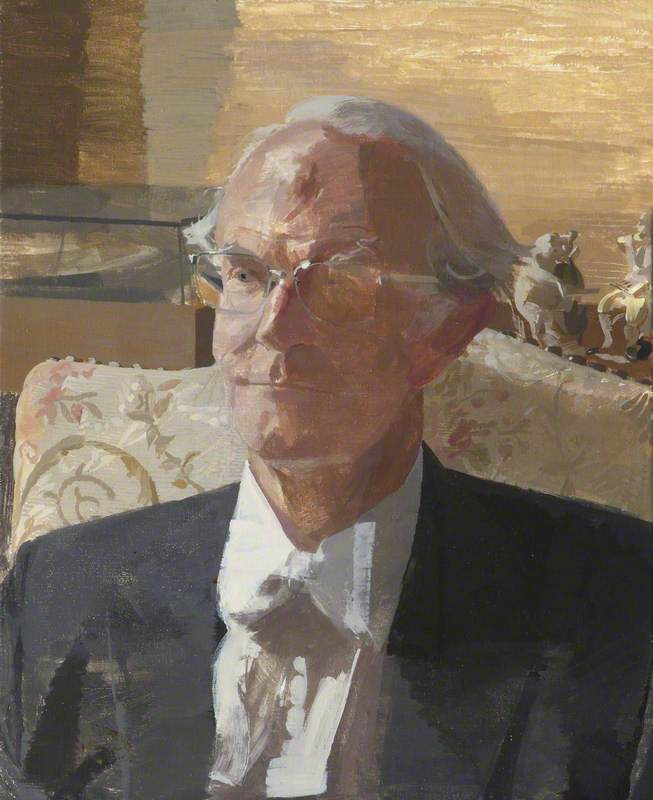 Sir Geoffrey Warnock (1893–1990), Principal (1971–1988), Vice-Chancellor (1981–1985)