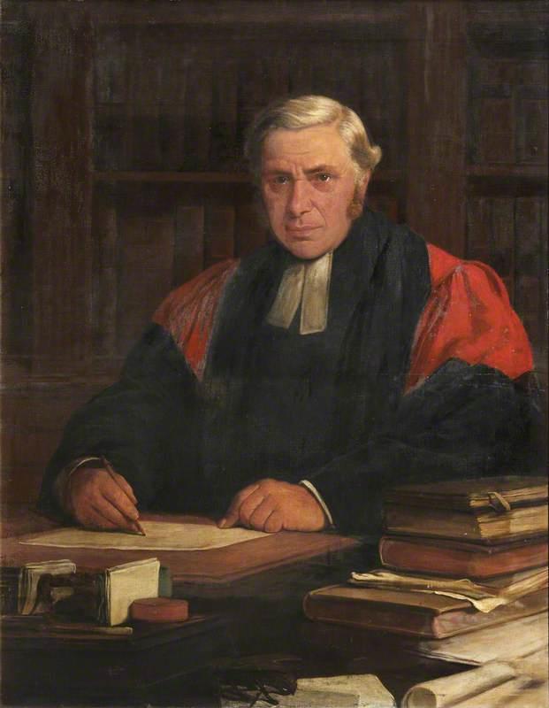 Hugo Daniel Harper (1821–1895), Principal of Jesus College, Oxford (1877–1895)