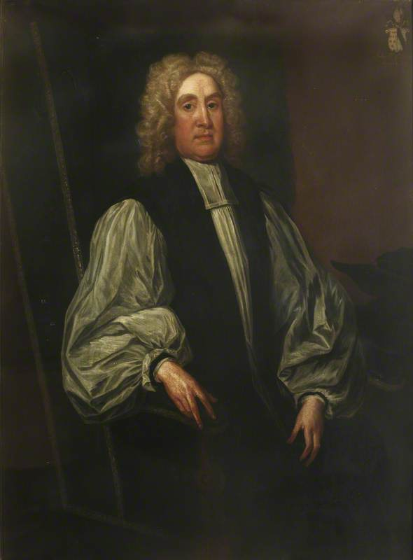 John Hough (1651–1743), President (1687 & 1688–1701), Bishop of Oxford (1690–1699), Lichfield and Coventry (1699–1717) and Worcester (1717–1743)