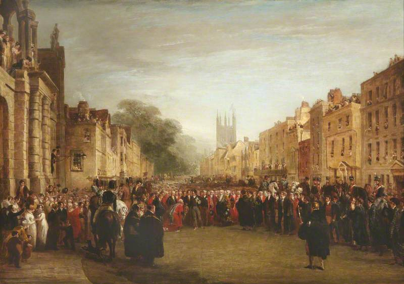 The Visit of the Prince Regent to Oxford