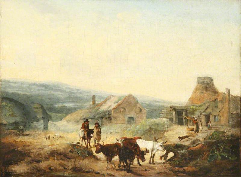 Romantic Rural Scene