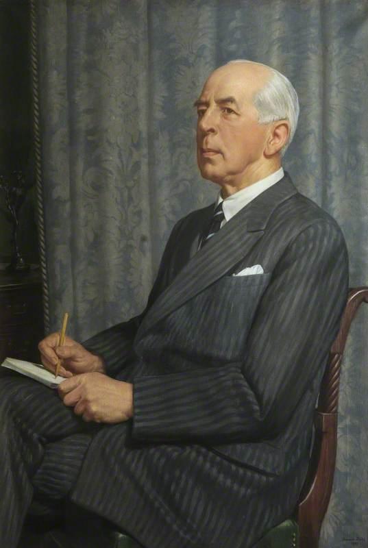 Portrait of a Past Rhodes Trustee