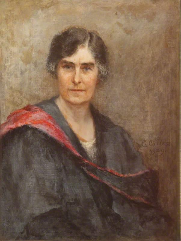Winifred H. Moberly, Principal (1919–1928)