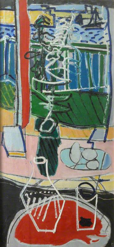 The Red Table : St Ives : 1950