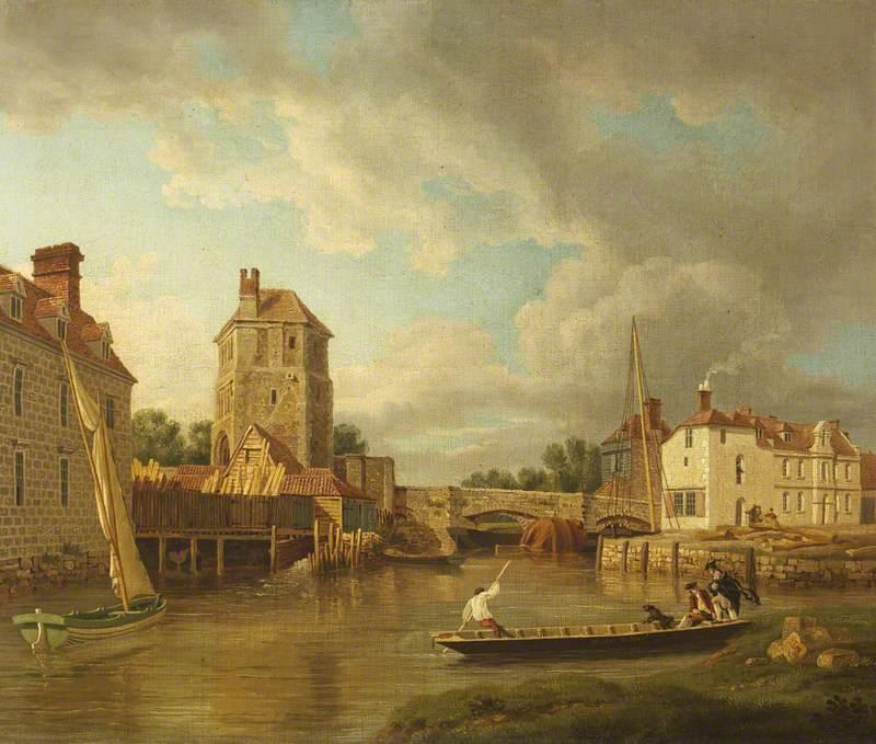Folly Bridge and Friar Bacon's Study