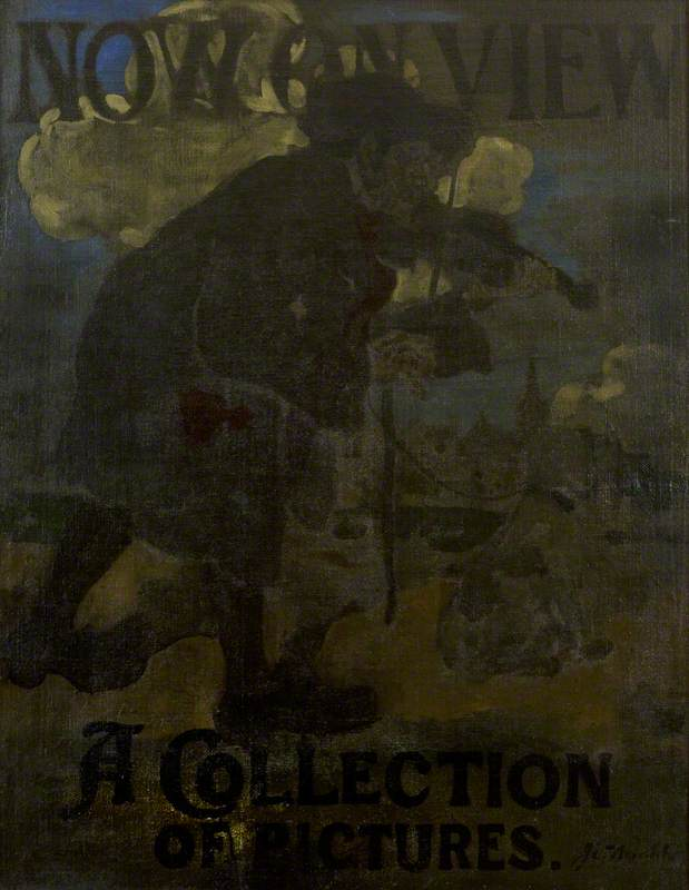Poster, Now on View, A Collection of Pictures