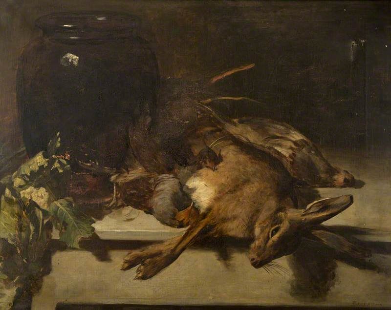 Still Life with a Hare and Partridges