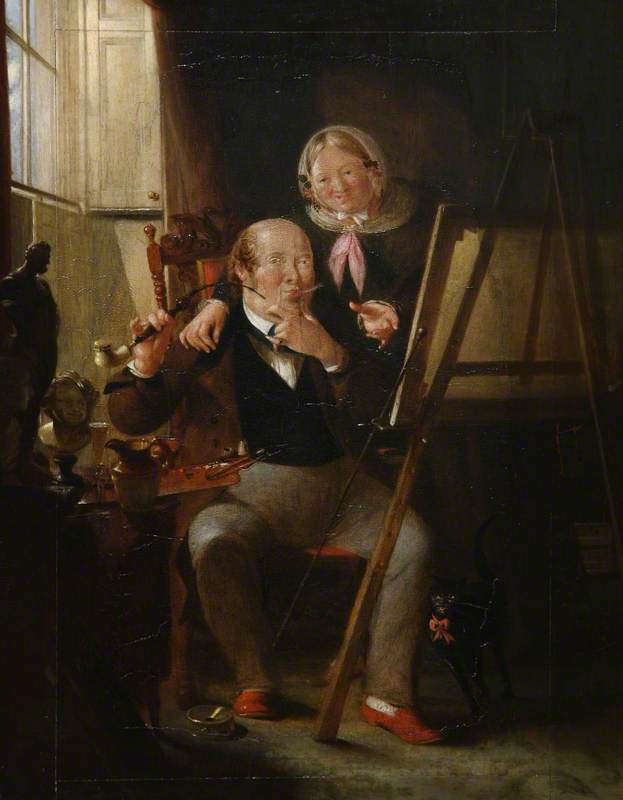 Self Portrait with the Artist's Wife